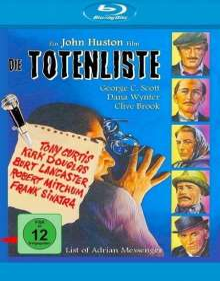 Die Totenliste (Blu-ray), Blu-ray Disc