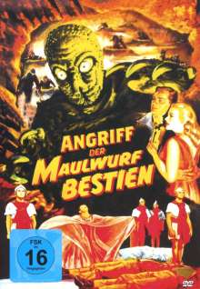 Angriff der Maulwurfbestien, DVD