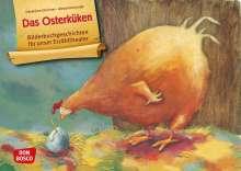 Géraldine Elschner: Das Osterküken. Kamishibai Bildkartenset., Diverse