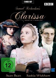 Clarissa - History Of A Young Lady, 2 DVDs