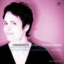 Paul Hindemith (1895-1963): Sämtliche Werke für Viola Vol.1 - Viola & Orchester, Super Audio CD