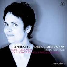 Paul Hindemith (1895-1963): Sämtliche Werke für Viola Vol.2 - Viola & Klavier, 2 Super Audio CDs