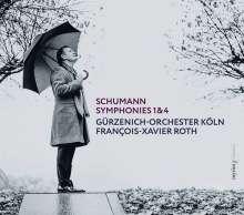 Robert Schumann (1810-1856): Symphonien Nr. 1 & 4, Super Audio CD