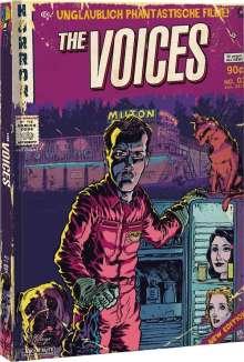 The Voices (Blu-ray & DVD im Mediabook), 1 Blu-ray Disc und 1 DVD