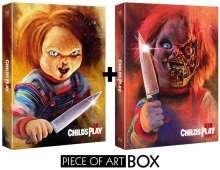 Chucky 2 & 3 (Blu-ray in Piece of Art Combo Box), 2 Blu-ray Discs
