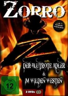 Zorro der blutrote Adler / Zorro im wilden Westen, 2 DVDs