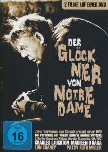 Der Glöckner von Notre Dame (Verfilmungen 1923 & 1939), DVD