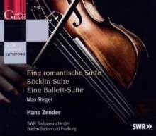 Max Reger (1873-1916): Romantische Suite op.125, CD