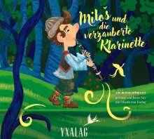 Milos und die verzauberte Klarinette, CD