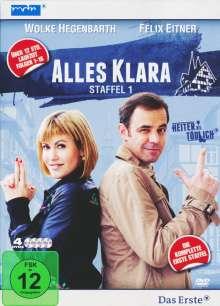 Alles Klara Staffel 1, 4 DVDs