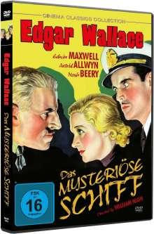 Edgar Wallace: Das mysteriöse Schiff, DVD