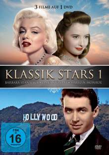 Klassik Stars 1: Barbara Stanwyck / James Stuart / Marilyn Monroe, DVD