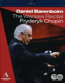Daniel Barenboim - The Warsaw Recital 2010, Blu-ray Disc