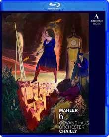 Gustav Mahler (1860-1911): Symphonie Nr.6, Blu-ray Disc
