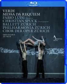 Giuseppe Verdi (1813-1901): Requiem (Ballettaufführung aus Zürich), Blu-ray Disc