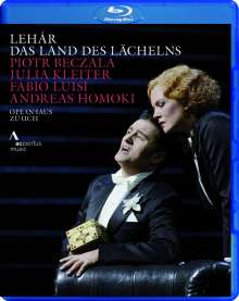 Franz Lehar (1870-1948): Das Land des Lächelns, Blu-ray Disc