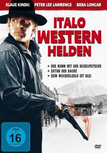 Italo Western Helden (3 Filme), DVD