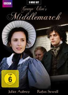 Middlemarch, 3 DVDs