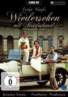 Wiedersehen mit Brideshead, 3 DVDs