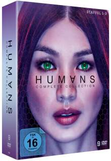 Humans (Komplette Serie), 9 DVDs