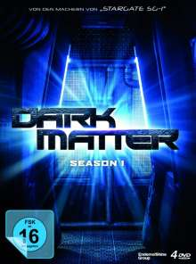 Dark Matter Staffel 1, 4 DVDs