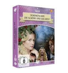 Dornröschen /  Die Schöne und das Biest, 2 DVDs