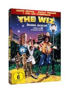 The Wiz (Blu-ray im Mediabook inkl. Soundtrack), 1 DVD und 2 CDs