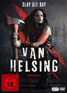 Van Helsing Staffel 2, 4 DVDs
