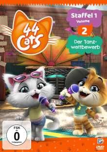 44 Cats Staffel 1 Vol. 2, DVD