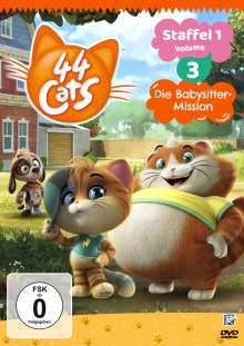 44 Cats Staffel 1 Vol. 3, DVD