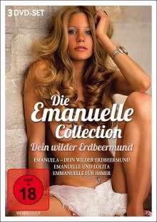 Dein wilder Erdbeermund - Die Emanuelle-Collection, 3 DVDs