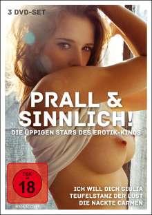 Prall und Sinnlich - Die üppigen Stars des Erotik-Kinos, 3 DVDs