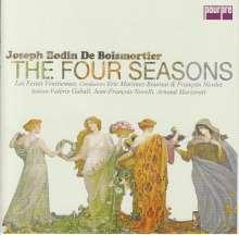 """Joseph Bodin de Boismortier (1689-1755): Kantaten """"Die vier Jahreszeiten"""" op.5 (Paris 1724) (Exklusiv für jpc), CD"""