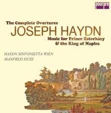 Joseph Haydn (1732-1809): Musik für den Fürsten Esterhazy & den König von Neapel / Sämtliche Ouvertüren (exklusiv für jpc), 8 CDs
