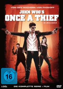 Once A Thief (Komplette Serie), 6 DVDs