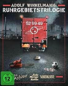 Adolf Winkelmanns Ruhrgebietstrilogie (Blu-ray), 3 Blu-ray Discs und 1 CD