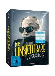 Der Unsichtbare (Komplette Collection) (Blu-ray & DVD), 6 DVDs und 2 Blu-ray Discs