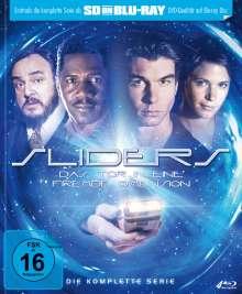 Sliders (Komplette Serie) (SD on Blu-ray), 4 Blu-ray Discs