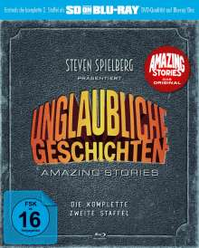 Unglaubliche Geschichten - Amazing Stories Season 2 (SD on Blu-ray), Blu-ray Disc