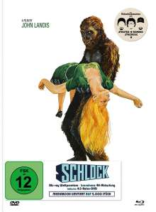 Schlock (Blu-ray & DVD im Mediabook), 1 Blu-ray Disc und 1 DVD