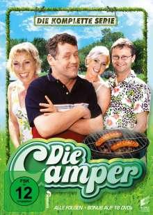 Die Camper (Komplette Serie), 18 DVDs