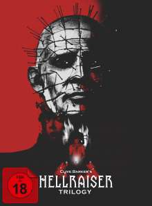Hellraiser Trilogy (Collector's Edition) (Blu-ray & DVD im Digipak), 4 Blu-ray Discs und 1 DVD