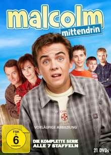 Malcolm Mittendrin (Komplette Serie), 21 DVDs