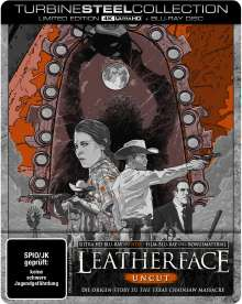 Leatherface (Ultra HD Blu-ray & Blu-ray im Steelbook), 1 Ultra HD Blu-ray und 1 Blu-ray Disc
