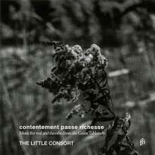 Contentement passe richesse - Music for Viola and Theorbo from the Goess Tablatures, CD