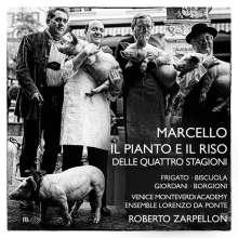Benedetto Marcello (1686-1739): Il Pianto e il Riso delle Quattro Stagioni (Oratorium 1731), 2 CDs
