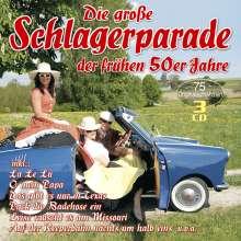 Die große Schlagerparade der frühen 50er Jahre, 3 CDs