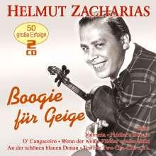 Helmut Zacharias: Boogie für Geige: 50 große Erfolge, 2 CDs