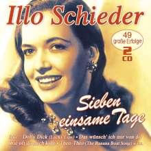 Illo Schieder: Sieben einsame Tage, 2 CDs