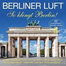 Berliner Luft ? So klingt Berlin, 2 CDs
